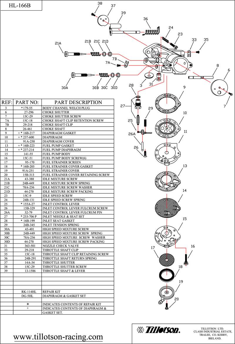 Mcr engine development comer k80 blueprint and rebuild tillotson hl 166b malvernweather Choice Image
